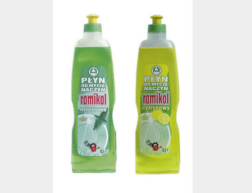 Romikol dishwashing liquid